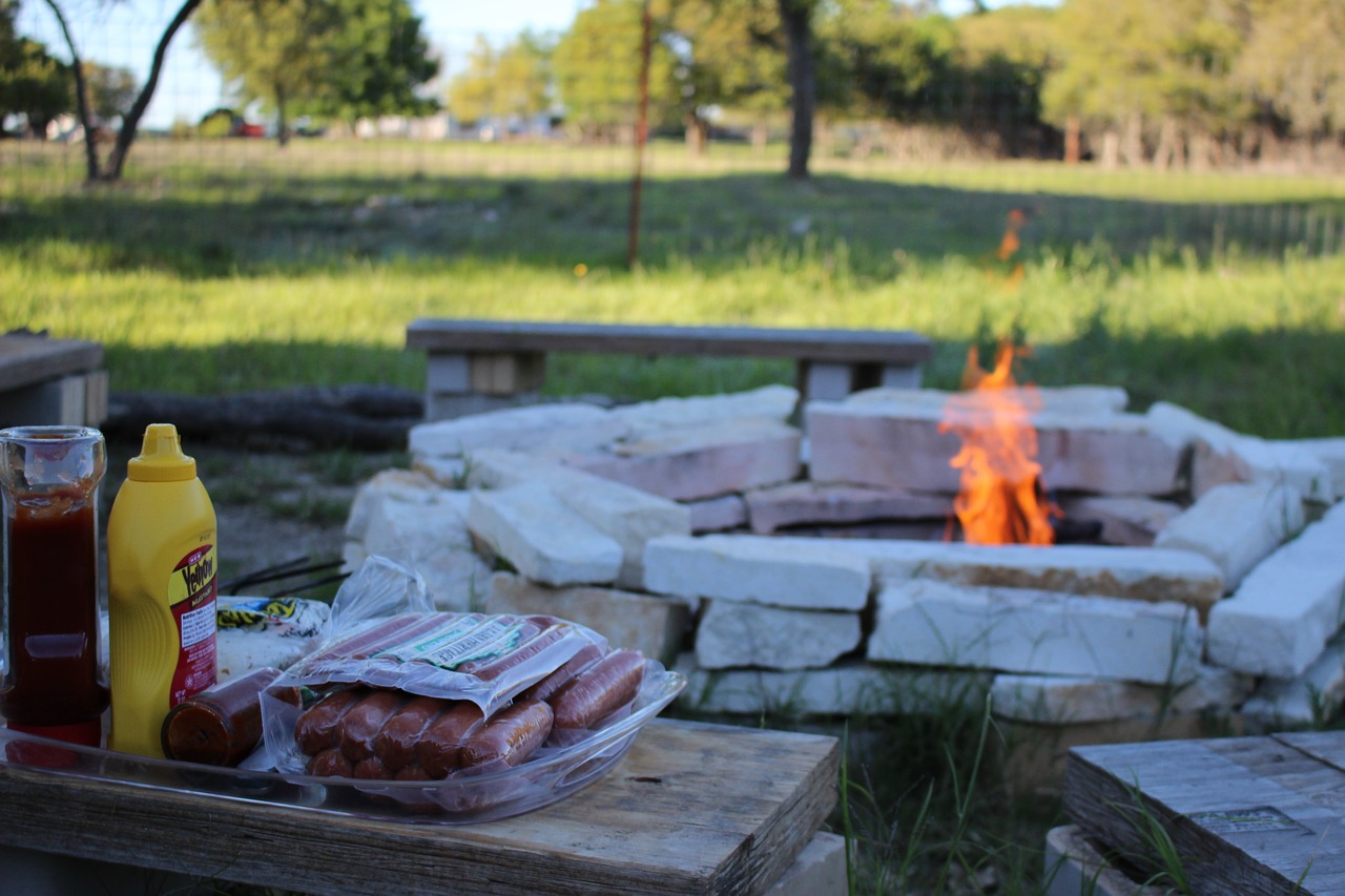 Building an outdoor fireplace can bring fun to your yard