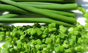 Chives are a great option for a fall garden